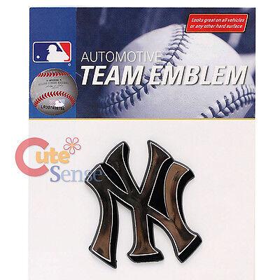 Baseball & Softball Sport SchöN Mlb New York Yankees Team Logo Auto Car Emblem Auto Zubehör Verchromt