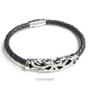 how to make a braided leather bracelet without a clasp