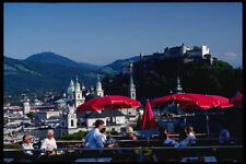 222051 View Of Salzburg Monuments From The Casino Terrace A4 Photo Print