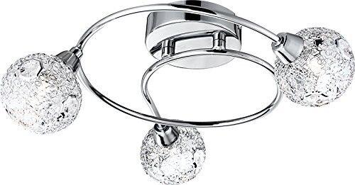 Globo 5668-3D Sienna G9 33 Watt 3 Bulb Chrome Ceiling Lamp
