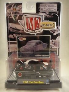 M2-Machines-Auto-Thentics-1951-Ford-Crestliner-Black-amp-Red-NEW-1-64-R-2-08-22