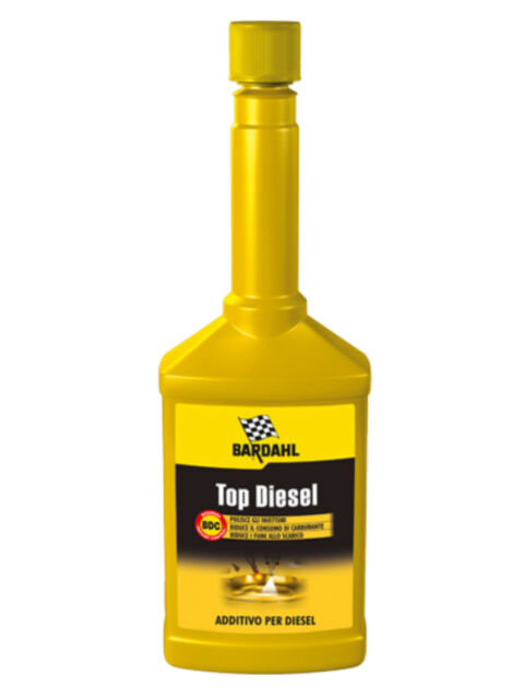 Bardahl Bardhal Top Diesel Additif Traitement Nettoyage Injecteurs Moteurs