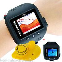 Wireless Watch Fish Finder, Sonar, Antenna. Boat, Kayak, Canoe. 60 Metre Range,