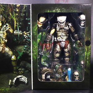 """NECA Jungle Hunter Predator Ultimate 7/"""" Action Figure 1:12 Predators Deluxe NIB"""