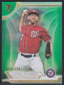 2018-TOPPS-TRIPLE-THREADS-EMERALD-STEPHEN-STRASBURG-221-259-WASHINGTON-NATIONALS
