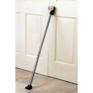 Exceptionnel Image Is Loading Set Of 2 Door Security Bar Home Brace