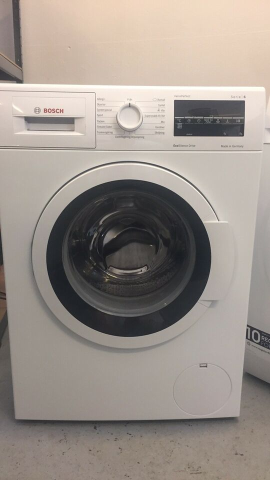 Siemens vaskemaskine, Wat324l7sn/14, frontbetjent