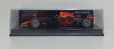 Minichamps 1/43 Modellino Auto F1 Aston Martin Red Bull Max Verstappen 2018 Halo Ricco Di Splendore Poetico E Pittorico