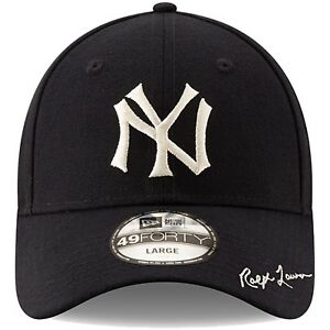 3eaf4ad24893bb Men's New York Yankees New Era Navy Polo Ralph Lauren 49FORTY Fitted ...
