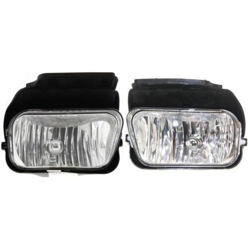 GM2592127 Fog Light Set for Chevrolet Silverado 1500 2003-2004 New GM2593127