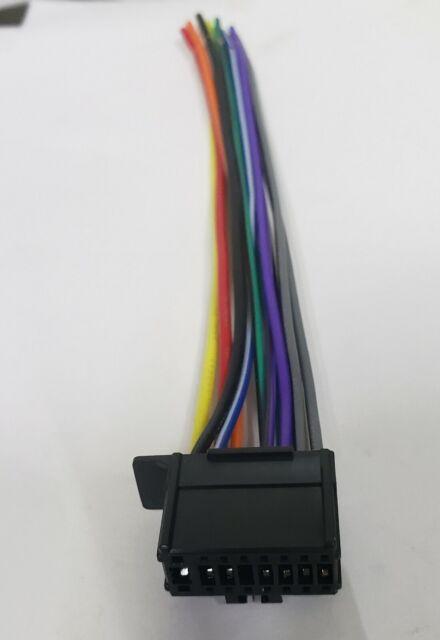 Wire Harness for Pioneer MVH290BT MVH291BT MVH390BT MVHS301BT MVHX370BT