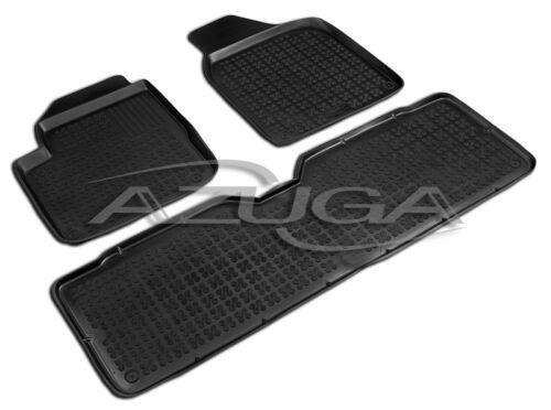 3d Caoutchouc Tapis De Sol Pour VW Sharan 1995-2010 Seat Alhambra Ford Galaxy Tapis De Caoutchouc