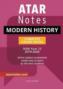 Details about HSC Notes: Year 12 Modern History Complete Course Notes  (2019-2020)