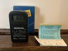 Lutron Emf 822a Emf Field Tester Meter Electromagnetic Radiation Gauss Tesla