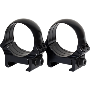 Weaver or Picatinny 100/% Steel Scope Rings with Integrated Recoil Lug