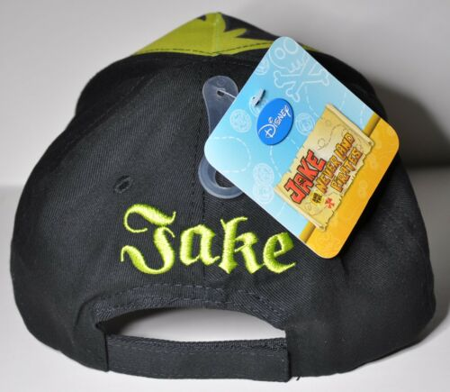 DISNEY JAKE AND THE NEVERLAND CAP HAT BOYS BASEBALL CAP DISNEY JUNIOR BIRTHDAY G