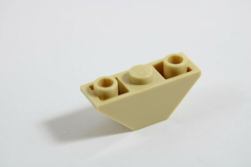 LEGO® Tan Slope Inverted 45 3 x 1 Double Design ID 2341