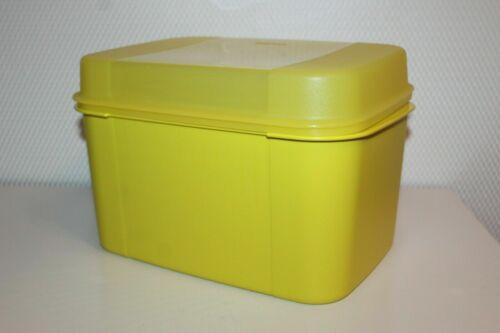 Tupperware Großes Naschkätzchen Behälter Dose 7,3 L Schatztruhe rot oder gelb