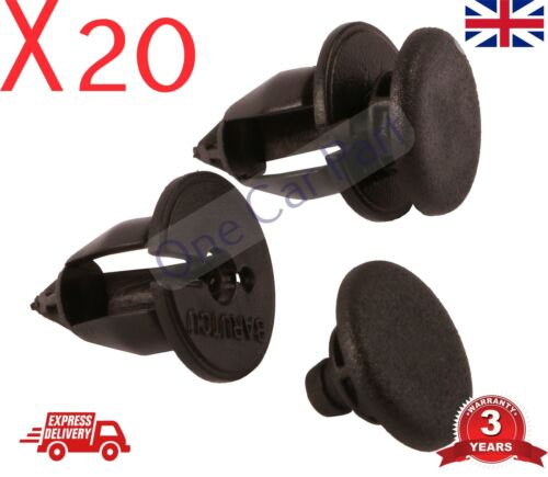 20X Interior Trim Clips /& Panel Clips for the Nissan Primastar