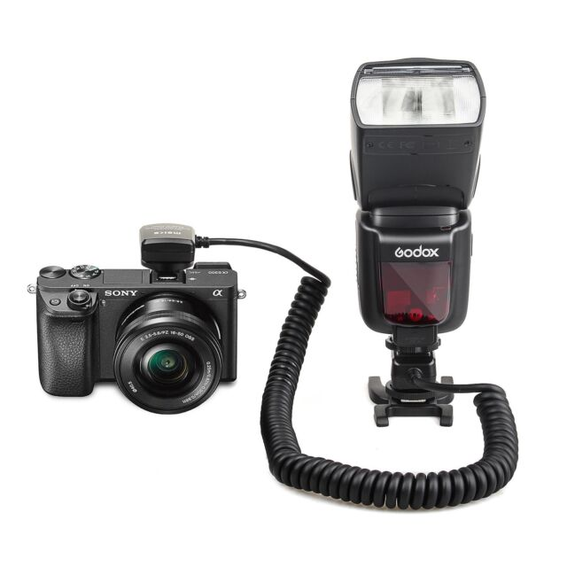 Meike MK-FA02 3M TTL Sync Cable Cord Off Camera MI for Sony Flash Speedlite