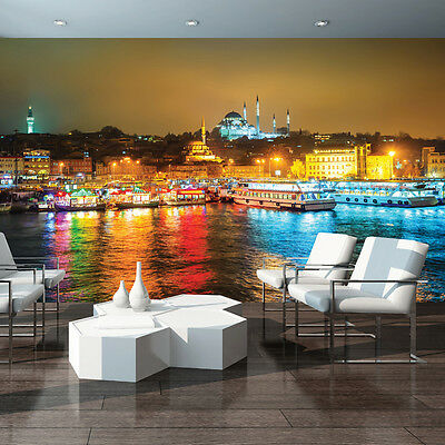 Getrouw Vlies Fototapete Fototapeten Tapete Stadt Istanbul Schiff TÜrkei Foto 3fx3467ve