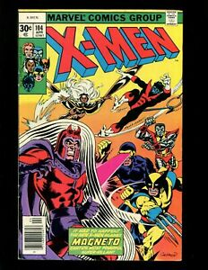 Uncanny-X-Men-104-FN-6-0-Return-of-Magneto-Wolverine-Storm-Cyclops