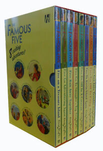 Enid-Blyton-Collection-Famous-Five-Series-8-Books-1-To-8-Paperback-English