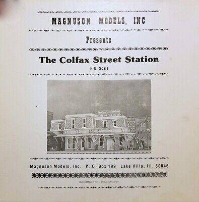 The Colfax Street Station HO Magnuson Models Inc
