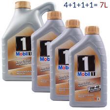 Mobil 1 FS 0W-40 4L + 1L + 1L + 1L = 7 Liter Motoröl New Life Nachfolger 7L
