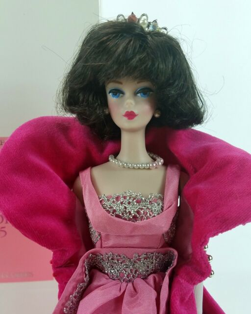1990 Mattel Barbie Porcelain Collection Sophisticated Lady Limited Edition Doll