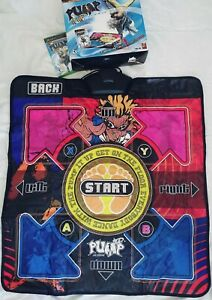 Pump-It-Up-Exceed-Dance-Mat-Pad-Xbox-Microsoft-Bundle-Set-Very-Rare-Great-Tested