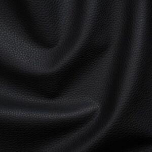 Kunstleder-Lederimitat-Polsterstoff-Meterware-Bezugsstoff-gepruft-schwarz