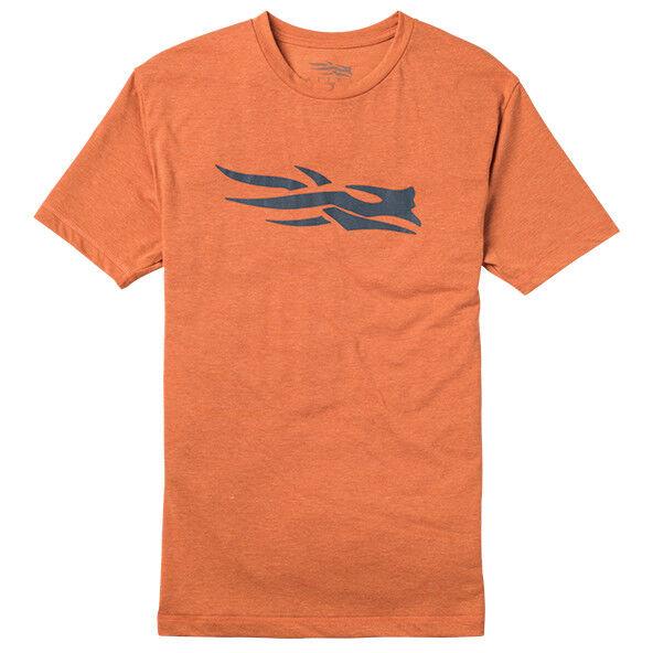 Sitka Logo Tee SS Burnt orange