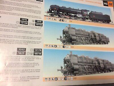 2019 Nuovo Stile Catalogo Treni Rivarossi 2000 Ho Fs Locomotive Motrici Carrozze Merci Vintage