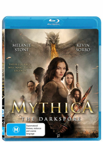 1 of 1 - The Mythica - Darkspore (Blu-ray, 2016) ACTION Dragons [Region B] NEW/SEALED