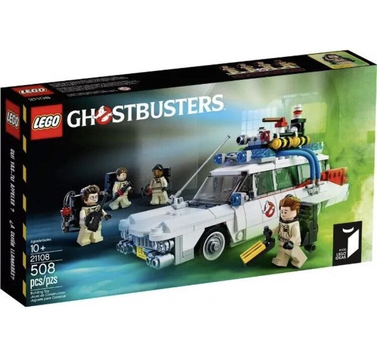 Lego 21108 - Ghostbusters Ecto 1 Car (2014) Now Retirot- BNIB