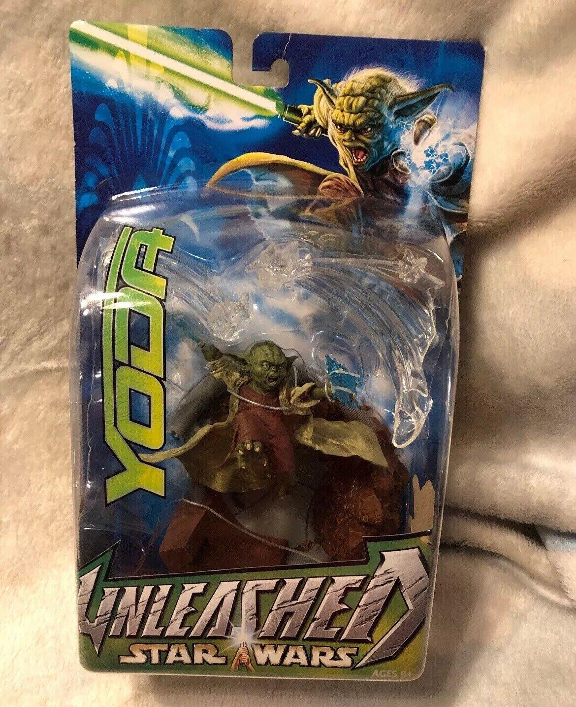 buen precio Estrella Wars Unleashed serie Yoda 2003 Nuevo Nuevo Nuevo Sellado De Fábrica  descuento online