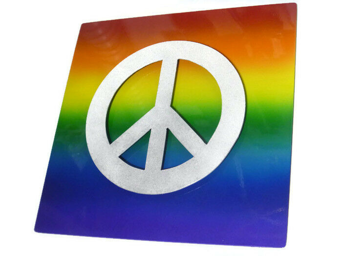 EQUALITY Gay Pride Rainbow Metal Sign, lgbtq sign, lgbt PRIDE metal sign