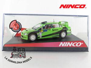 NINCO-50436-MITSUBISHI-LANCER-SIMM-76-SLOT-SCALEXTRIC-NUEVO