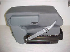 2014 FORD F150 CENTER JUMP SEAT/CONSOLE  GRAY CLOTH OEM NEW! NICE! WHAT A DEAL!!