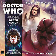 DOCTOR WHO Big Finish Audio CD Tom Baker 4th Doctor #4.4 DEATH MATCH