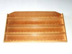 72pc-Wooden-Thimble-Display-Rack-with-Sides-Pine-huge-range-see-list
