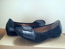 Gabor Gabor 34.114 Black Leather Women's Slip On Flats Size US 8.5 M  UK 6.5