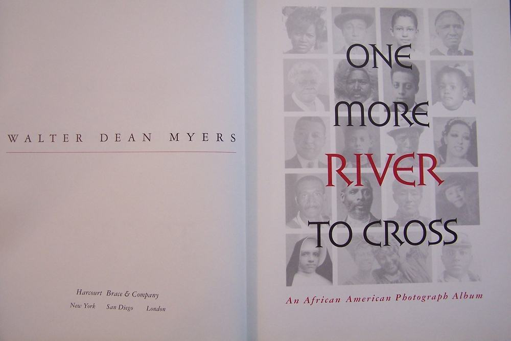 One More River to Cross Walter Dean Myers Hardcover Boo