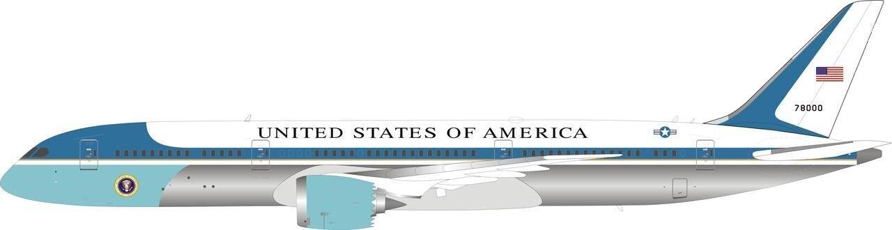 Bbox WBUSAF78901P 1/200 USAF Boeing 787-9 Air Force One 78000 Lucidato con /
