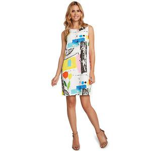 NEW-Jams-World-Jackie-Dress-Tweet-Hawaiian-Sundress-XL-Made-in-USA