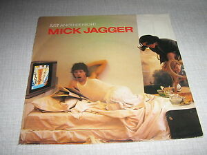 MICK-JAGGER-45-TOURS-HOLLANDE-JUST-ANOTHER-NIGHT