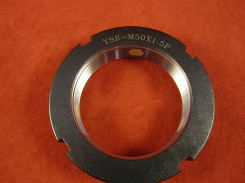 Yinsh Precision Bearing Locknut YSR-M50x1.5P-1 Grinding- Black