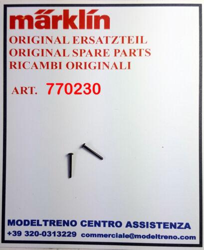 MARKLIN 77023 770230 PERNO BRUNITO 2 St. NIET BRUNIERT 2 pz. d.1,2//11,5 mm