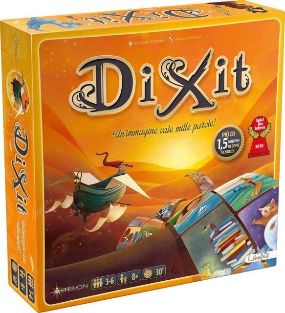 DIXIT - Gioco da tavolo Base Nuova Edizione ITALIANO carte by Asmodee